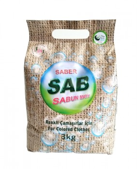 SAB-KONSANTRE ÇAMAŞIR TOZU(RENKLİLER İÇİN 3kg)