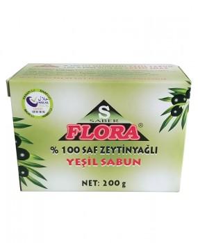 FLORA %100 ZEYTİNYAĞLI SABUN(200 g)
