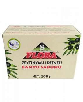 FLORA ZEYTİNYAĞLI DEFNELİ SABUN(200 g)
